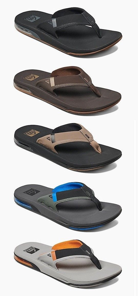 487f0aac6 Sandals and Flip Flops 11504: Reef Men S Fanning Low Bottle Opener Flip  Flops Sizes 7 8 9 10 11 12 13 14 -> BUY IT NOW ONLY: $54.95 on eBay!