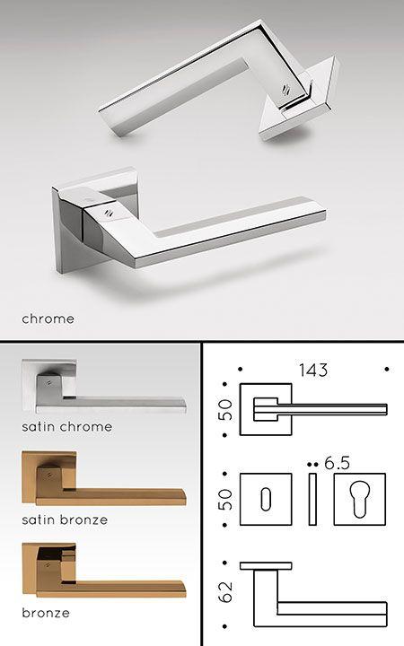 Maali Modern Door Handles (130R)                                                                                                                                                                                 More