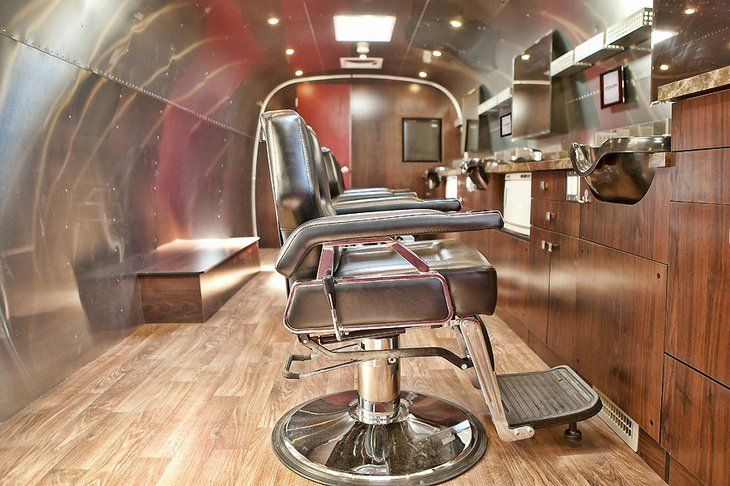 Mobile Airstream Barbers