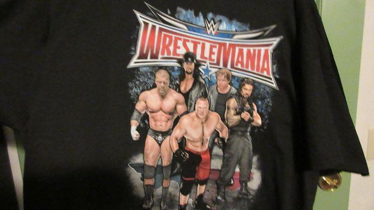 Wrestlemania 32 SM T shirt WWE Taker Roman Reigns Dean Ambrose Brock Lesnar HHH - http://bestsellerlist.co.uk/wrestlemania-32-sm-t-shirt-wwe-taker-roman-reigns-dean-ambrose-brock-lesnar-hhh/