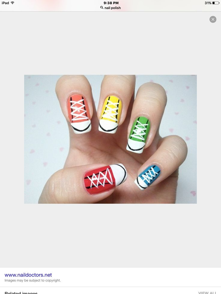 ideas about Converse Nail Art on Pinterest   Converse nails     Pinterest Nail art  easy nail art  nail art design  simple nail art  nail art designs  nailart simple nail art step by step  nail arts  canada map  nail art images