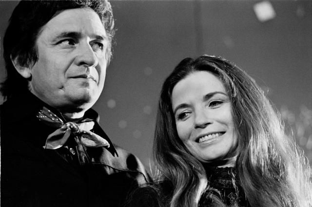 Johnny Cash and June Carter Cash Had a Great Love Story: Johnny Cash and June Carter posed  together in Amsterdam, Holland in 1972.