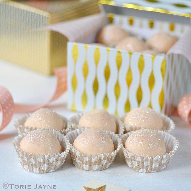 White chocolate & Orange truffles by toriejayne, via Flickr