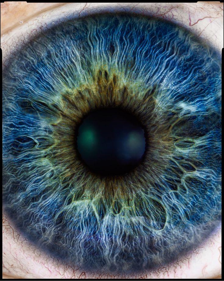 Iris / eye looks like the cosmos