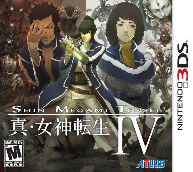 Amazon.com: Shin Megami Tensei IV - Nintendo 3DS: Imogene Forte: Video Games