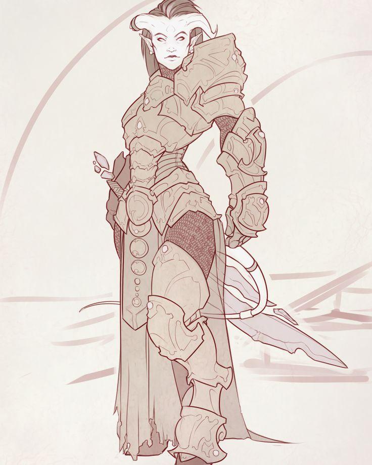 Draenei Paladin Lady by Iseijin on deviantART