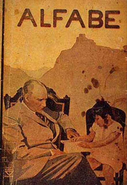 Yıllarca ilkokul birinci sınıflarında okutulan ALFABE'nin kapağını Atatürk'ün siparişi üzerine 1932 yılında tasarladı