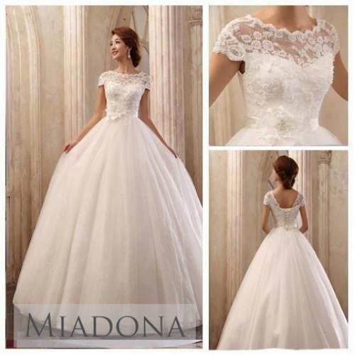 Как расшить бисером свадебное платье