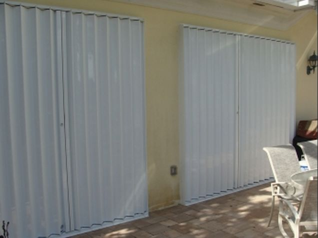 Looking for a hurricane shutter? Accordion shutters are an excellent solution for a large span, upper floor windows and high rise buildings. They offer superb affordable security and hurricane defense for your home. Call us at 239-438-4732 / 239-244-2015 and get a free quote. https://www.guardianhurricaneprotection.com/accordion-shutters/ #accordionshutters #hurricaneshutters #hurricaneprotectedwindows