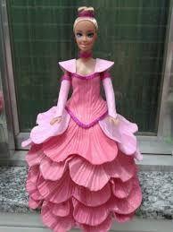 Image result for barbie vestido con goma eva