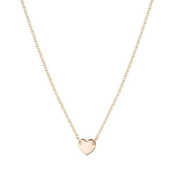 Itsy Bitsy Heart Necklace - Rose