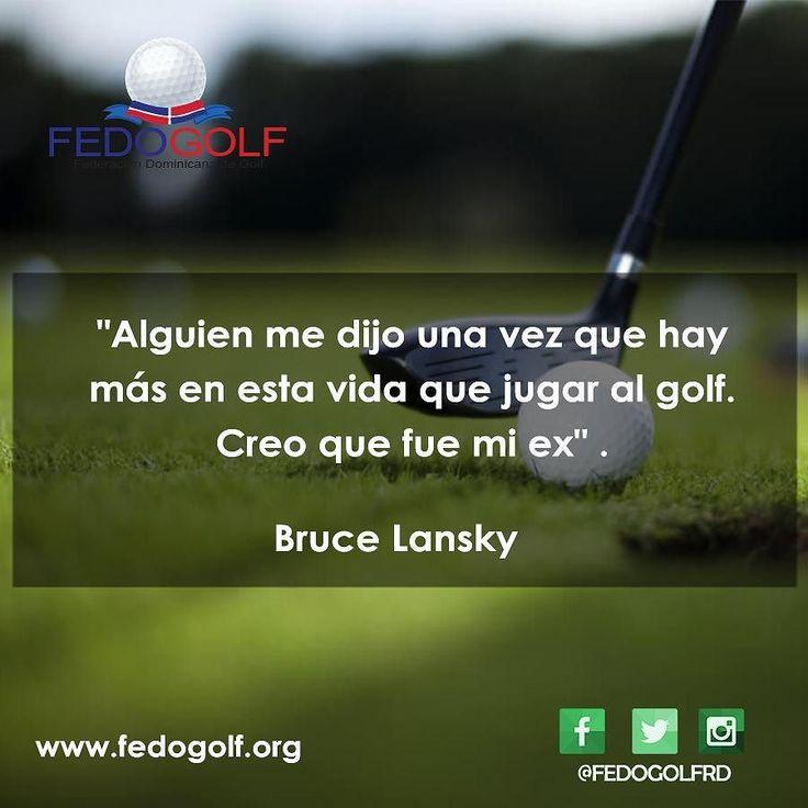 Un poco de humor #felizjueves #humorgolf  #fedogolf #golf #RD #swing #grass #putter #tigerwood #filed #hoyo #pasion #sport #deporte