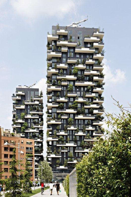 Bosco Verticale in Milan / by Boeri Studio