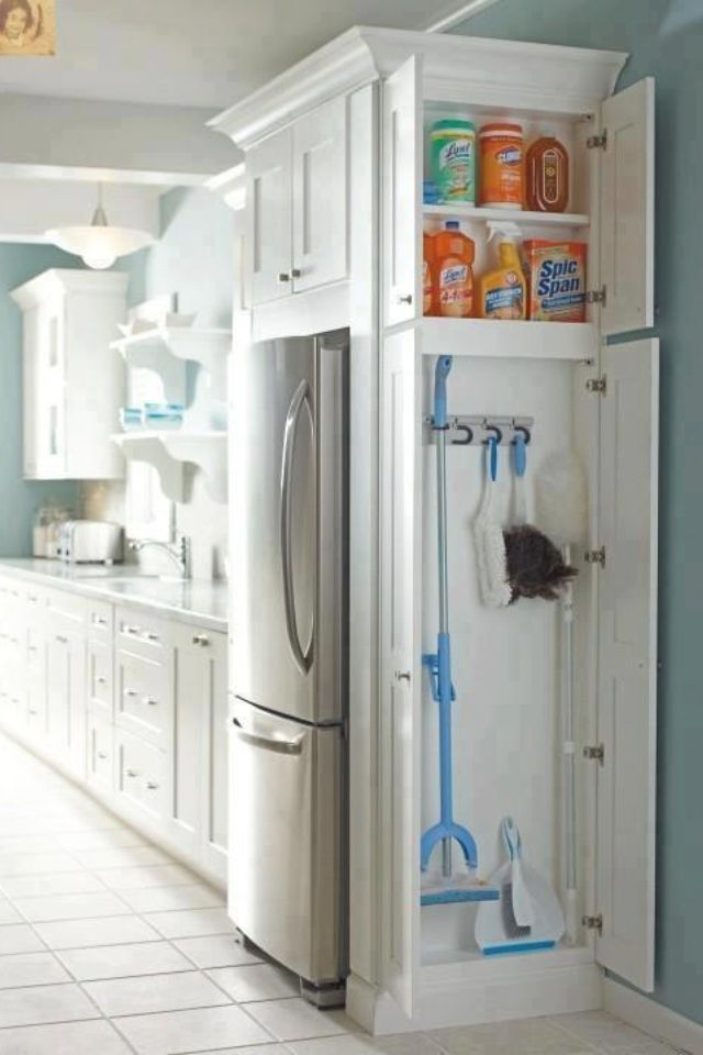 Clever use of space...I would put noticeboard, storage for keys etc in a space like this as we have a separate laundry