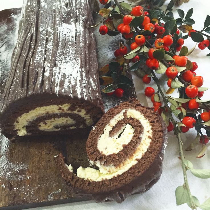 Easy recipes for chocolate log