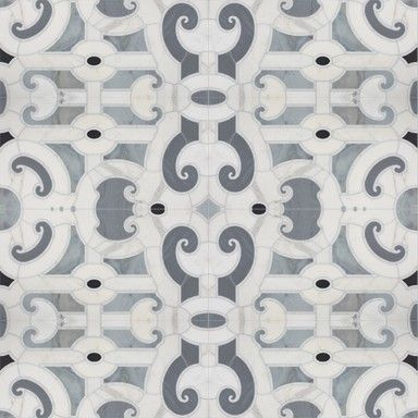 Michael S Smith Cosmati Stone Mosaic Tile - Ann Sacks Tile & Stone
