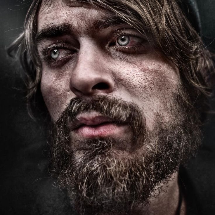 portraits of homeless people
