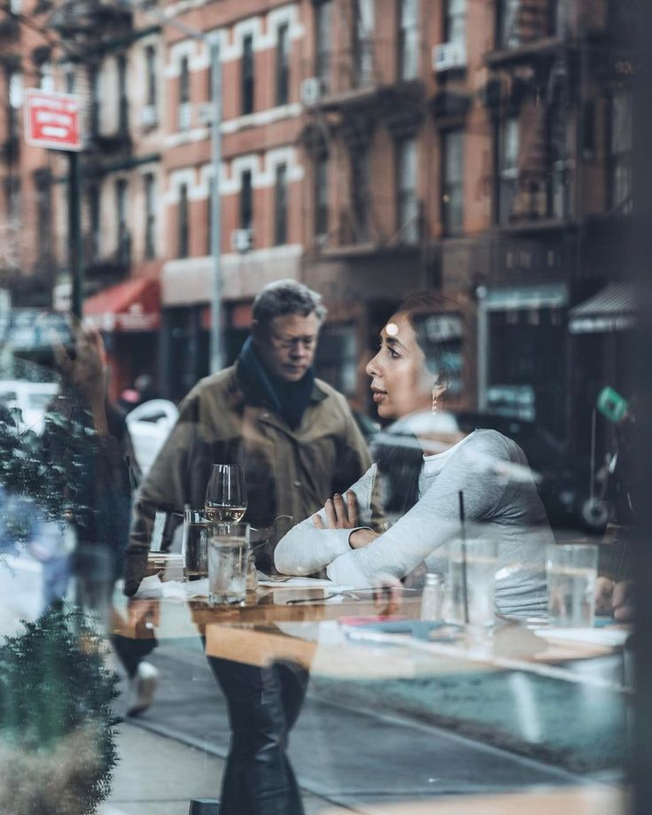 Magical Street Photography of New York City by Paola Franqui. Street photography window reflections. Urban photography.