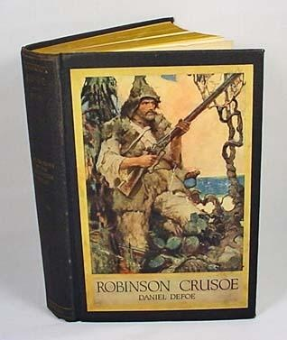 an analysis of robinsons struggle in the novel robinson crusoe by daniel defoe Robinson crusoe study guide contains a biography of daniel defoe, literature essays, a complete e-text, quiz questions, major themes, characters, and a full summary and analysis about robinson crusoe.
