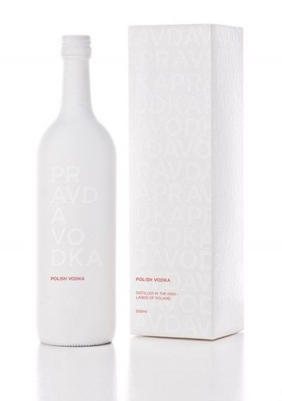 Pravda Vodka packaging concept PD