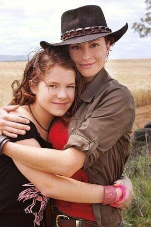 Stevie  Rose, McLeods Daughters, love, hugg. Great tv, show, photo