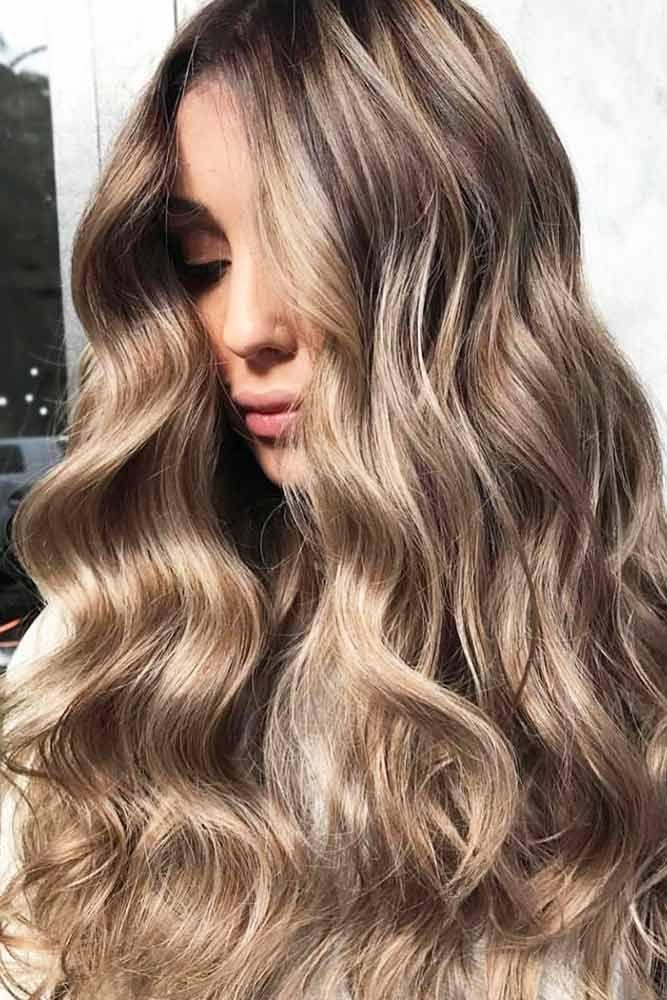 Hair Color 2017 2018 Dark Blonde Lowlights Blondehair Brown