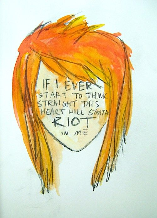 Hayley Williams! I LOVE this pic! :D lyrics from That's What You Get!