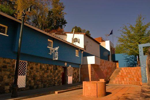 La Chascona - casa de Panlo Neruda. Santiago de Chile