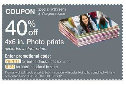 walgreens promo code for cards