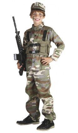Deguisement du petit soldat