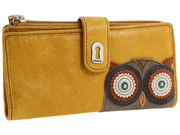 Owl Wallet From Fossil Owl Stuff Pinterest Fossil