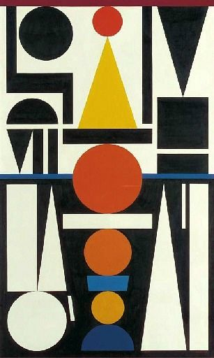 stilllifequickheart: 1951. Auguste Herbin, a French Cubist and later abstract painter whose work forms a bridge between the Cubist movement and post-war geometrical abstract painting.