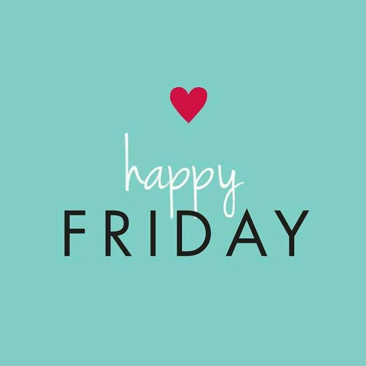 Happy Friday! What fun things do you have planned this weekend? #TGIF #Friday