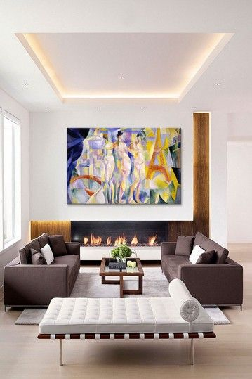 La ville de Paris by Robert Delaunay Canvas Print by iCanvasART on @HauteLook