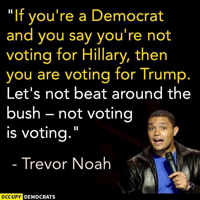 Funny 2016 Election Memes: Trevor Noah on Voting