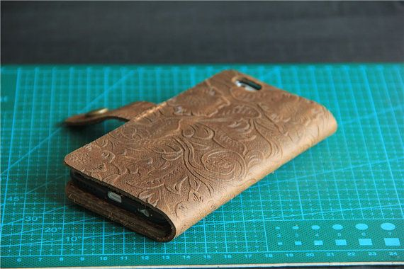 iphone 6 case iPhone 6 wallet case iPhone 6s by CollLeatherShop
