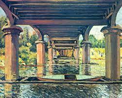 Under the Bridge at Hampton Court