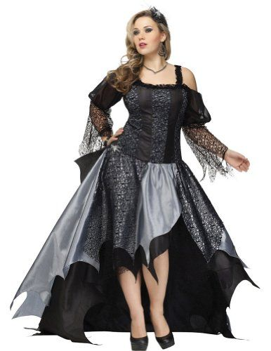 fashion bug spider queen adult plus size 18 20 adult womens costume wwwfashionbug - Size 18 Halloween Costumes