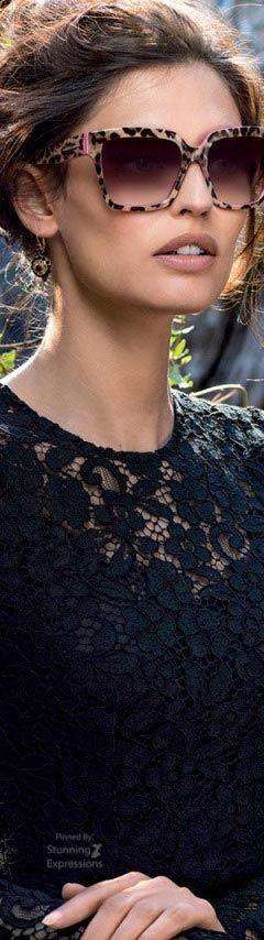 Bianca Balti 4 Dolce Gabbana Eyewear 2016