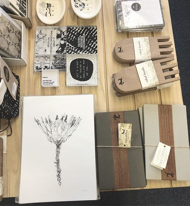 Can LOCAL design get any better than this?? Find us at Kamers/Makers and support local makers #kamers2018 #PRESENTspace #aLOCALcollective #wood #art #ceramics #stationary