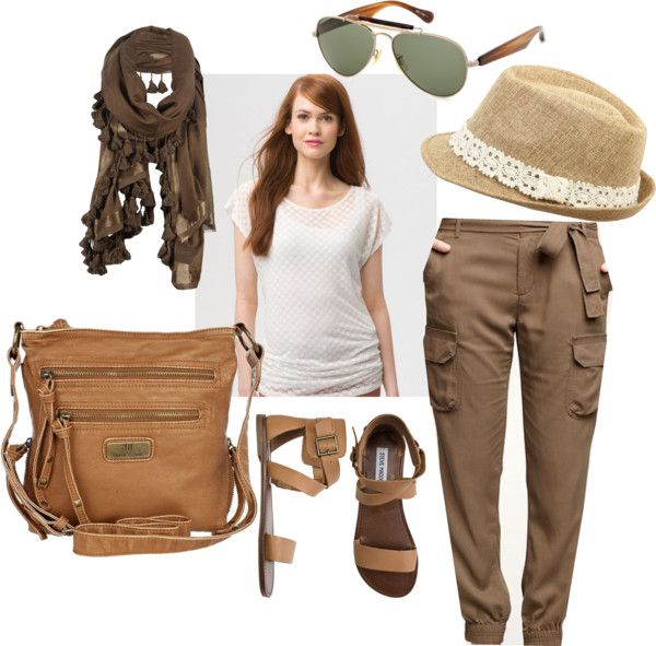 Safari Outfit, created by mcmolina on Polyvore #KSadventure #KendraScott - Best 20+ Safari Outfits Ideas On Pinterest Fall Clothes 2014