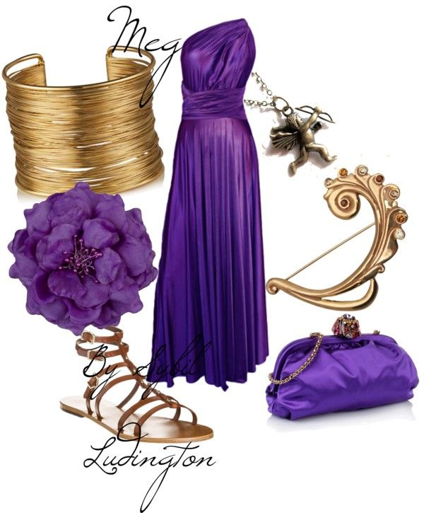 """Meg (Disney Hercules)"" by merahzinnia on Polyvore"