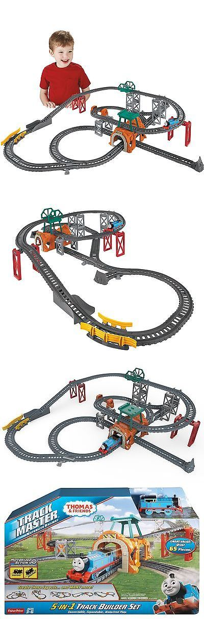 Trains and Vehicles 113518: Fisher-Price Thomas : Friends Trackmaster 5-In-1 Track Builder Set -> BUY IT NOW ONLY: $60.99 on eBay!
