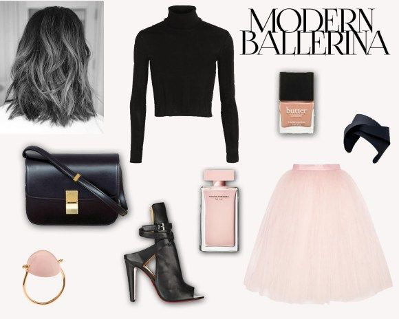 Modern Day Ballerina style and outfit, perfect for a girl's night out!