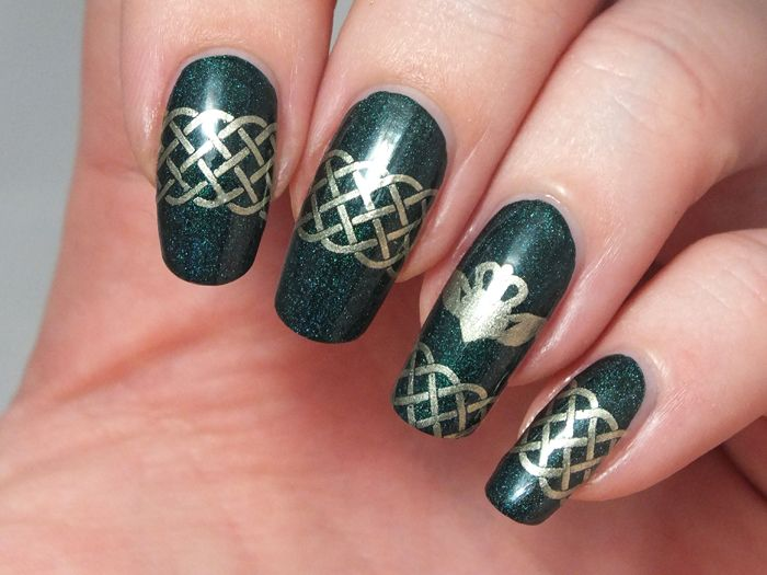 celtic-nail-art-celtique-saint-patrick