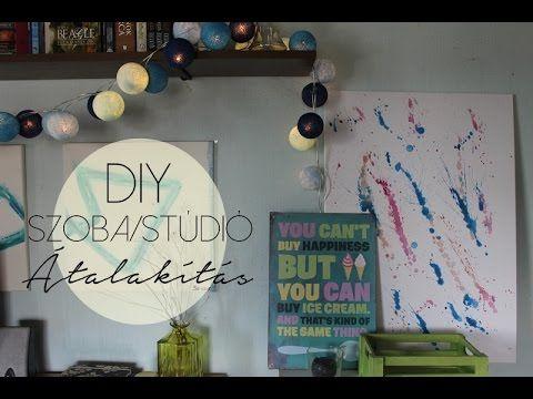 DIY Szoba/Stúdió Átalakítás | AvianaRahl