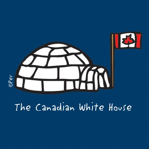 Canadian T-Shirt (Adult) - The Canadian White House - $19.95