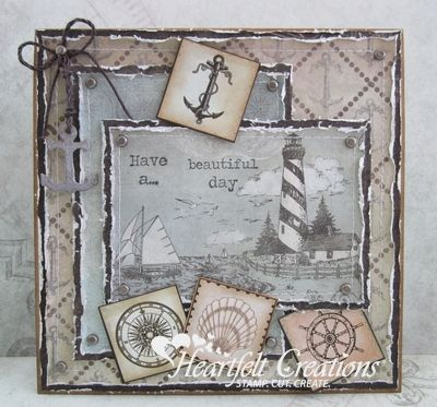 Heartfelt Creations | Lighthouse Scene Beautiful Day