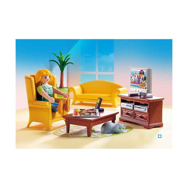 5308 Salon avec poêle à bois