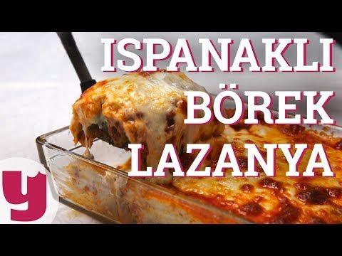 Ispanaklı Börek Lazanya Tarifi (Fırında Bayram Var!) | Yemek.com - YouTube